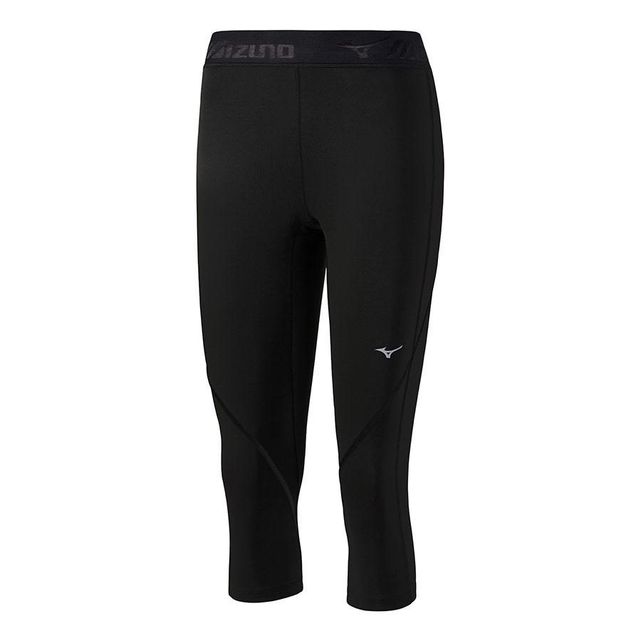0d0bb77ef5 Pirate mesh Mizuno Impulse Core 3/4 Tight black woman | deporvillage