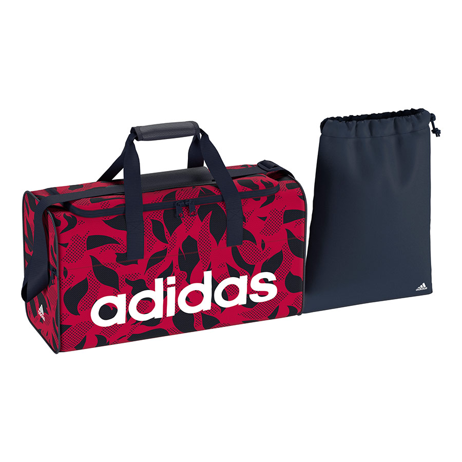 Adidas Linear Core Organiser Bag Pack Gym Lining Chest Sports Travel Shoulder