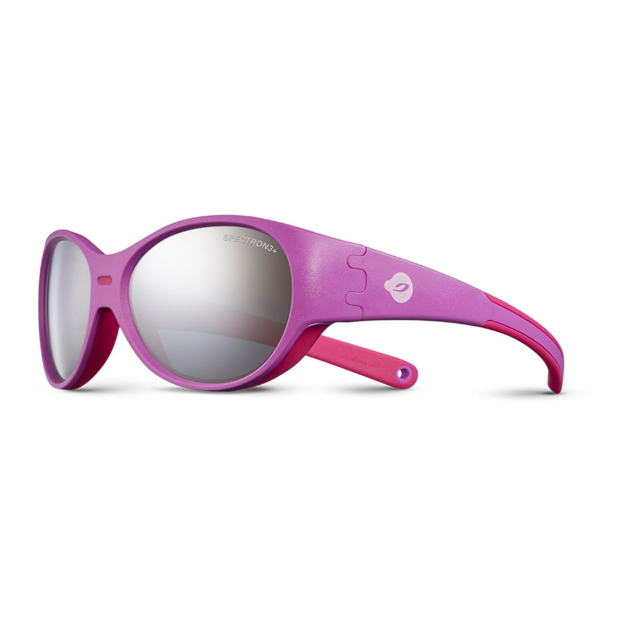 c523b6345e81 Julbo Puzzle pink sunglasses for children with Spectron 3+ mirrored ...